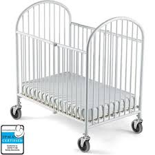 foundations compact steel folding crib 1331097 cribs