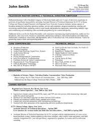 Document Controller Resume Sample by Click Here To Download This Television Master Controller Resume