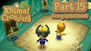 animal crossing new leaf part 15 crazy redd visits town