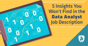 Description 5 Insights You Won U0027t Find In The Data Analyst Job Description
