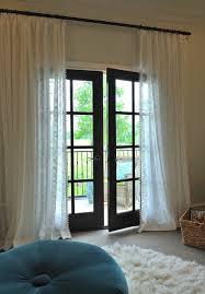 Patio Doors Curtains Patio Door Curtain Ideas Patio Mediterranean With Beige Column