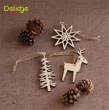 2 types ornaments elk snow tree decoration