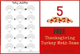 thanksgiving rhymes teacher mama free thanksgiving turkey math game boy mama