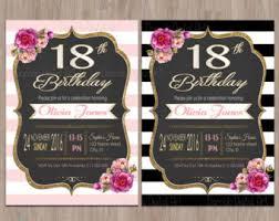 18th birthday invitations ideas images invitation design ideas