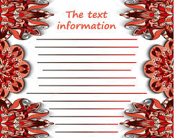 leaflet booklet cover page abstract brochure a4 text frame