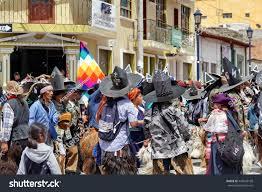 Quechua Flag Cotacachi Ecuador June 29 2106 Inti Stock Photo 445528168