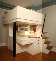 Plans For Bunk Bed Ladder by Cheerful Loft Bed For Your Children Space Saving Corner Kids Loft