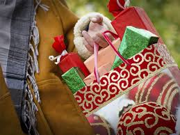 christmas shopping bags nrf per person spending to rise 5 with 44 of shopping