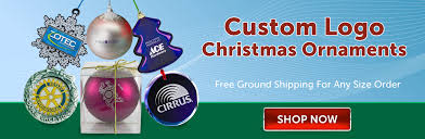 custom christmas ornaments with your logo