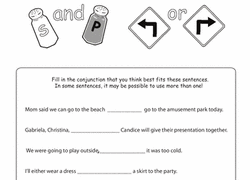 correlative conjunctions worksheets education com