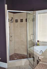 Frame Shower Door Vision Mirror Shower Door