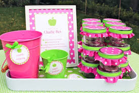 girl birthday ideas kara s party ideas apple of my eye themed birthday party via