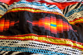 cultural craft profile patchwork from the seminole tribe of