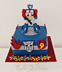 transformer cake transformers children s birthday cakes party ideas