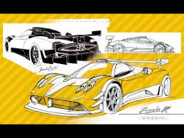 pagani drawing 2007 pagani zonda r drawing 1280x960 wallpaper