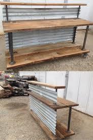 Reclaimed Wood Reception Desk Wood Plank Reception Desk Deck Bar Garage Best Desks Front Sales