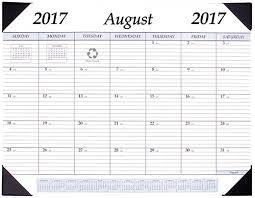 stp 17 academic desk pad calendar