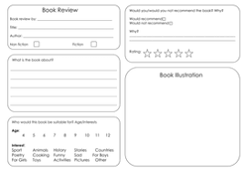 printable book template ks2 book review template by bora bora teaching resources tes