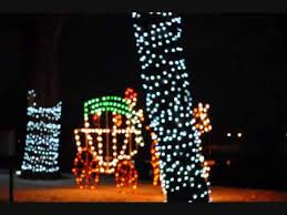 christmas lights in michigan christmas lights at st joseph michigan youtube