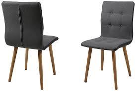 Esszimmerstuhl Mit Armlehne Grau Ac Design Furniture H000014095 Esszimmerstuhl 2 Er Set Charlotte
