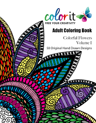 50 original flowers to color colorful flowers volume 1 by
