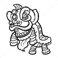 lion dancer book lion vector image 1972821 stockunlimited