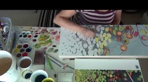 how to paint lily pads with watercolor on paper a time lapse