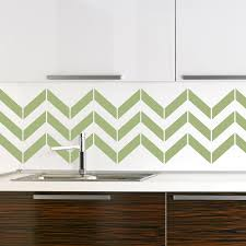 chevron stripes vinyl wall decal sticker