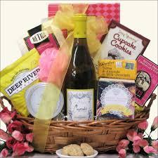 Wine And Chocolate Gift Baskets Wine U0026 Spa Gift Basket