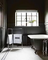 stylish bathroom inspiring design inspiration black and awesome black and white bathroom decor ideas grasscloth wallpaper bathrooms