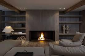 wood burning fireplace contemporary original design open