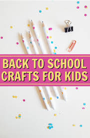 back to craft ideas for kids a little craft in your day