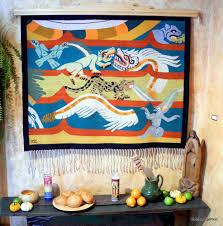 Zapotec Rug Paintings May U2013 Pre Columbian Designs U2013 Starr Interiors Fine Weavings Taos Nm