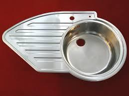 spüle küche 86 cm rieber einbauspülbecken edelstahl 1 becken rechts spüle