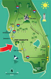 port florida map my