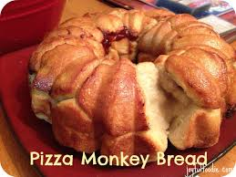joyful foodie pizza monkey bread