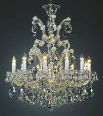 Maria Theresa 6 Light Crystal Chandelier Chandeliers Crystal Chandeliers And Maria Theresa Crystal