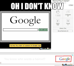 Google It Meme - this ad was beneath the google colours meme when i saw it by