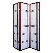 home decorators collection 5 83 ft black 4 panel room divider
