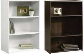 2 Shelf White Bookcase Furniture Home Shelf Mainstays Wide 3 Shelf Bookcase Walmart