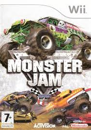 monster truck racing association monster jam for wii 2007 mobygames
