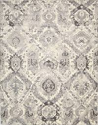 Grey Area Rug Nourison Twilight Twi03 Ivgry Ivory Grey Area Rug Rugs A Bound