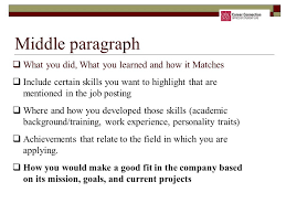 How To Highlight Skills In by Resume Strategies Career Connection Younkin Success Center 2nd