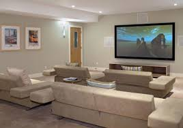 home theater as addition to large modern interior small design