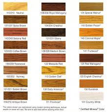 Shades Of Red Color Chart by Dura Seal Stain Colors U2014 Flooracle Knowledge Center Chicago