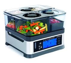 vapeur cuisine morphy richards 48780 cuiseur vapeur 3 paniers 1600w silver