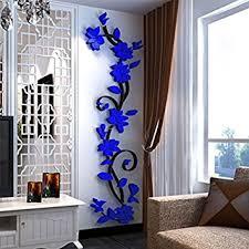 3d Wallpaper For Home Wall India Buy Generic Diy 3d Flower Decal Vinyl Decor Art Home Living Room