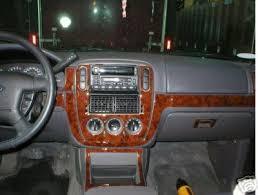 ford explorer trim amazon com ford explorer interior burl wood dash trim kit set