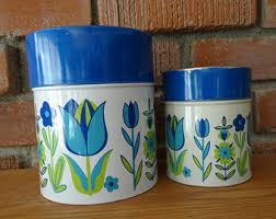 kitchen canister set etsy