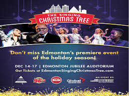 singing christmas tree contest edmonton sun